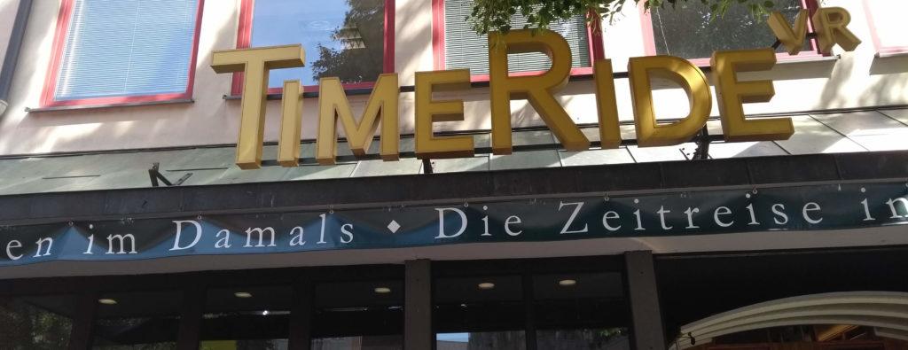 Eingang zu Timeride Köln