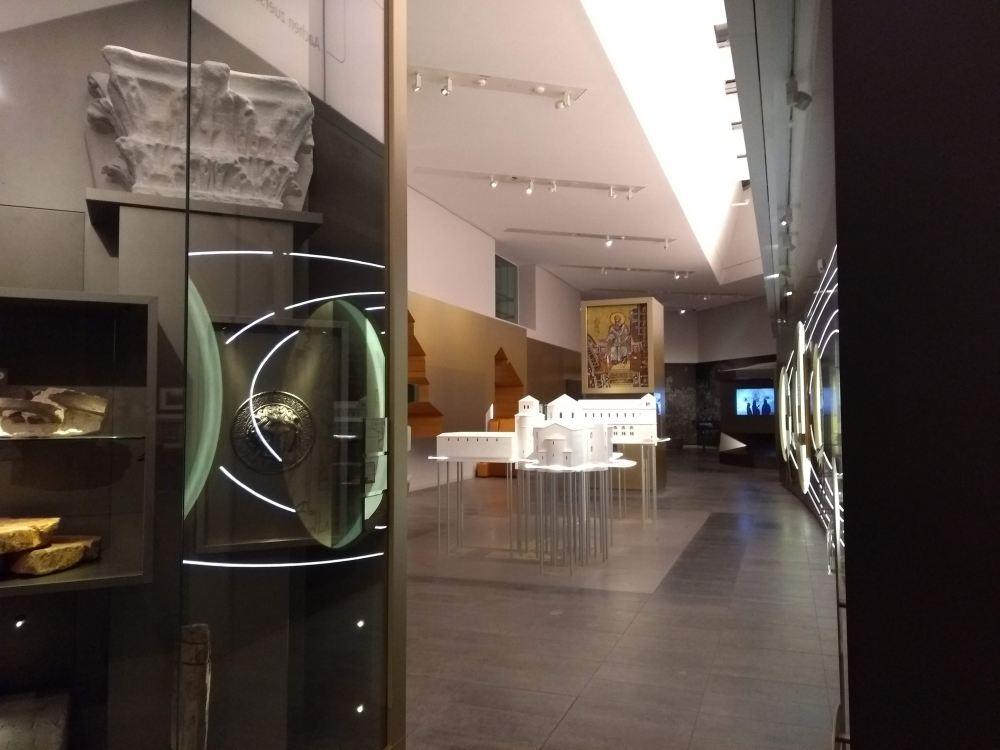 Das Centre Charlemagne ist das Stadtmuseum Aachens.