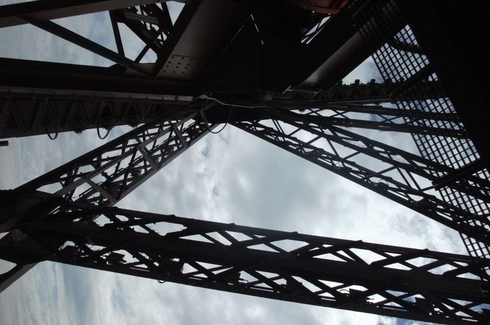 Ein anderer Blick auf den Eiffelturm.