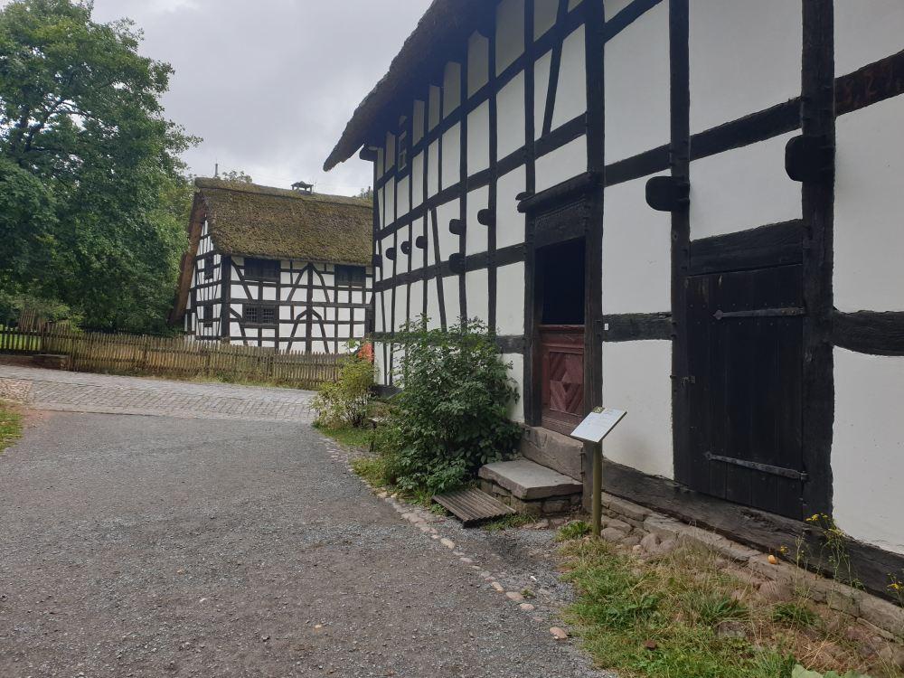 Fachwerkhäuser in Kommern